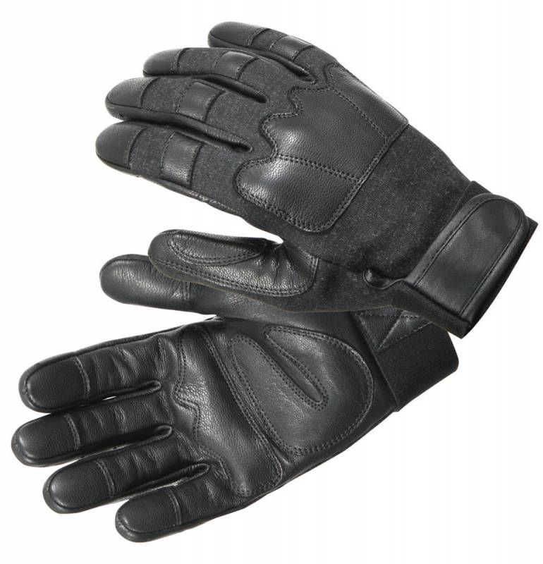 Steel Shot Leather Tactical Sap Gloves xl