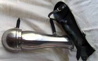 Greek Folding Greaves