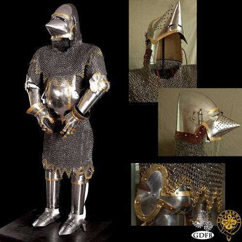 Churburg Suit of Armour, 16G