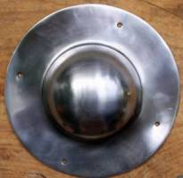 Shield Boss Round Steel