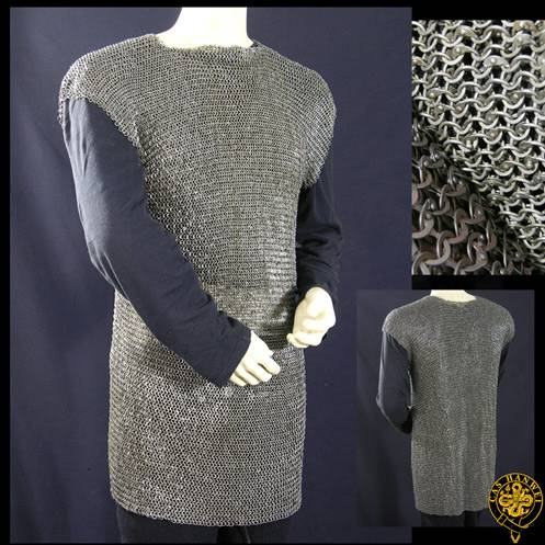 Roman Chainmail Hamata w/Shoulder Doubling