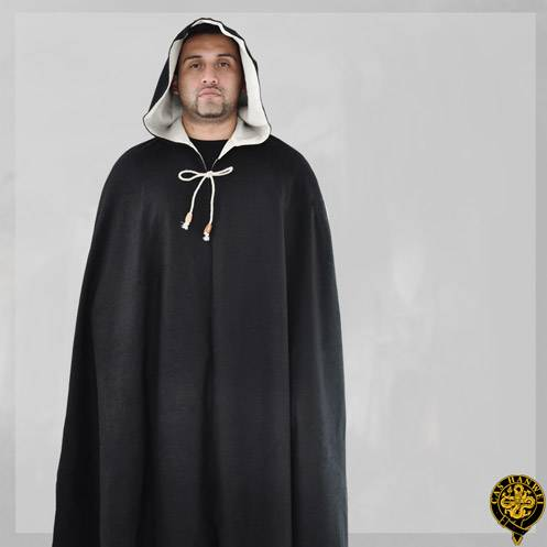 Cloak, Wool, Std. Size, Solid Black