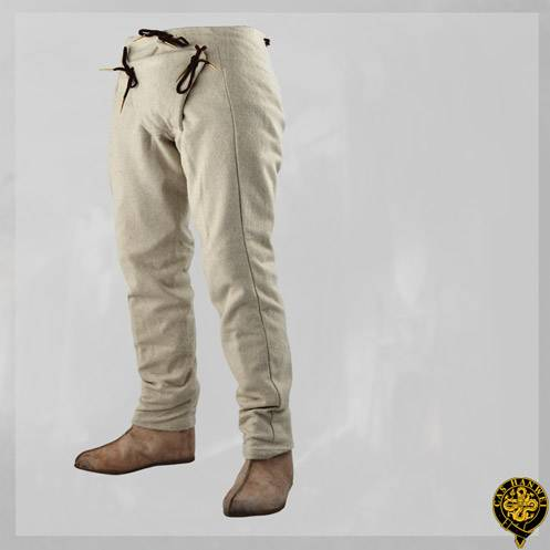 15th Century Pants, Natural, L