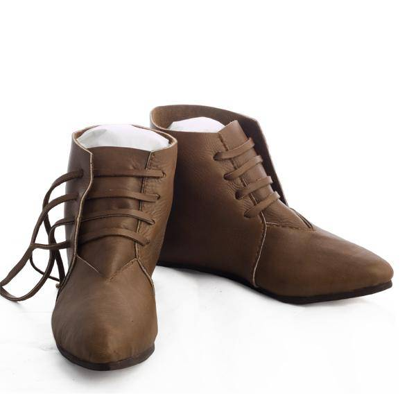 Front Lace Medieval Boots 13th-14th