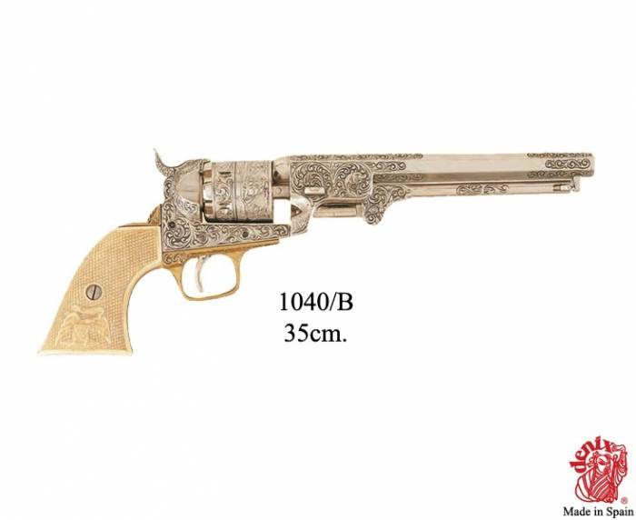American Civil War Navy revolver, by S.Colt, USA 1851.
