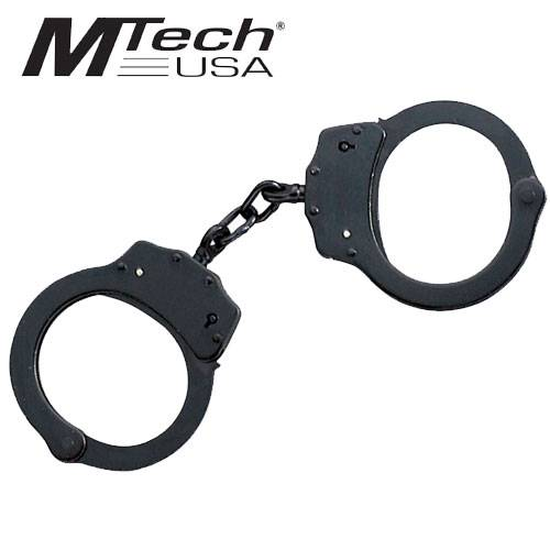 Black Double Lock Handcuffs Comes With Pouch