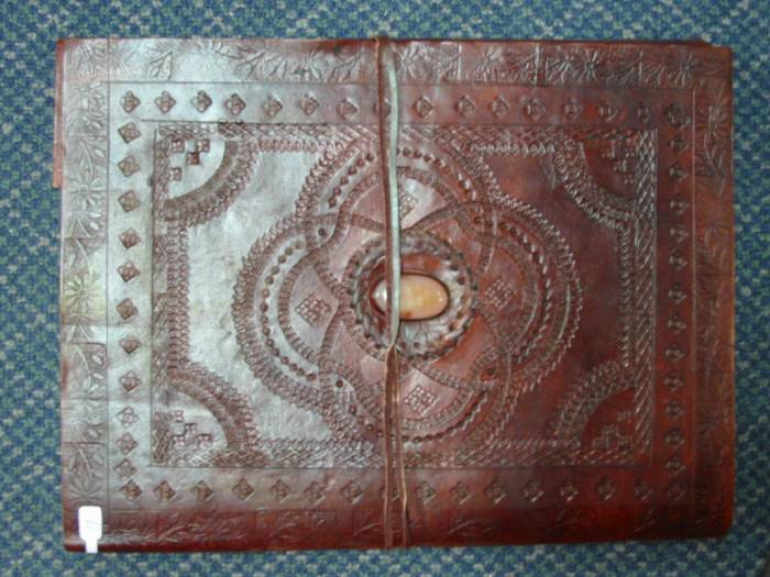 Leather Embossed Album