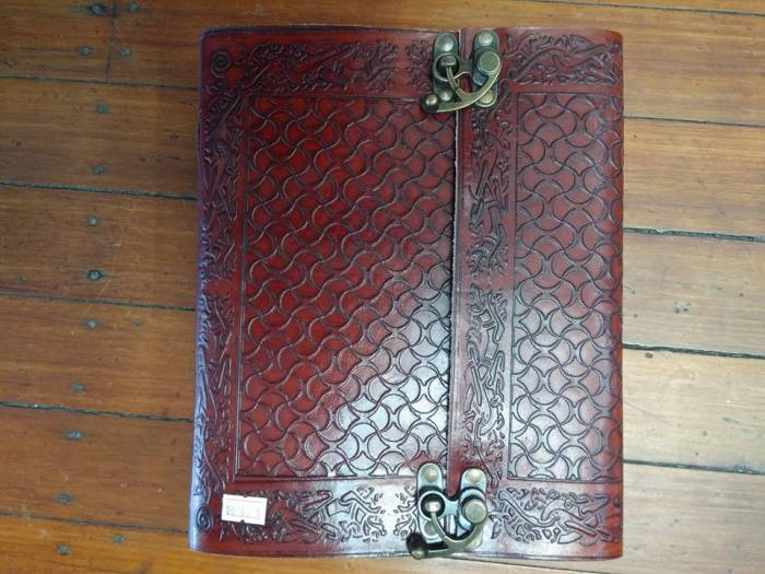 XXL Leather Book