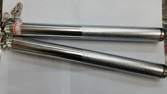 Stainless Steel Nunchuck/Changeable to Baton