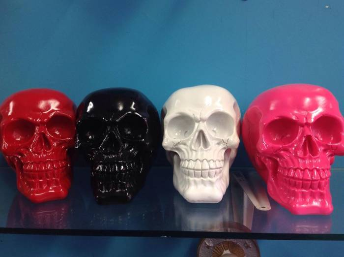 Candy Skull Ornament - Moneybox