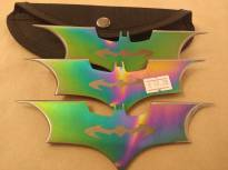 Batarangs - Rainbow Coloured