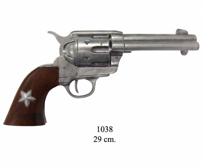 45 caliber revolver made by S. Colt USA, 1886