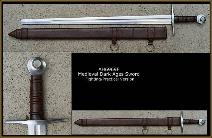 Practical Medieval Dark Ages Sword
