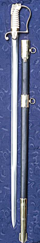 1805 Pattern Royal Navy Officer's Sword