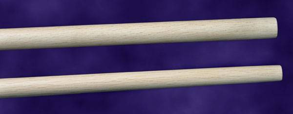 White Oak Straight Bo Staff Martial Arts