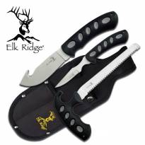 Elk Ridge Hunting Knife Set with Sheath