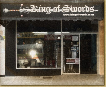 The King of Swords shop